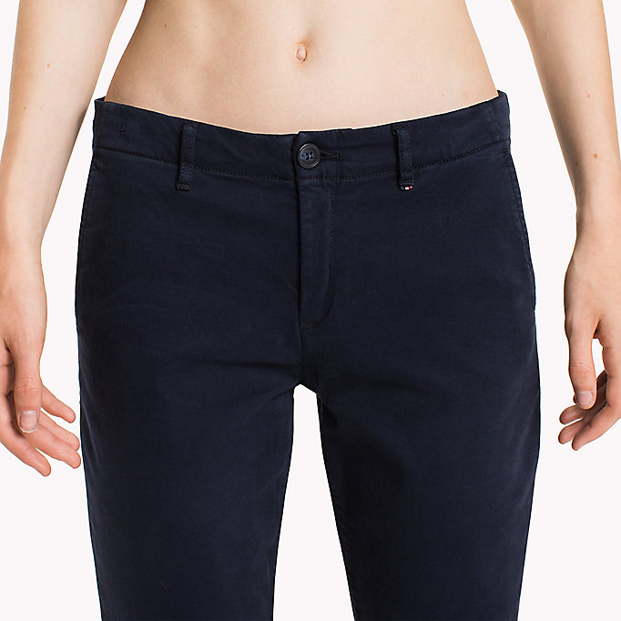 TOMMY JEANS Cotton Stretch Slim Chino - GINGER ROOT - TOMMY JEANS Women - detail image 5