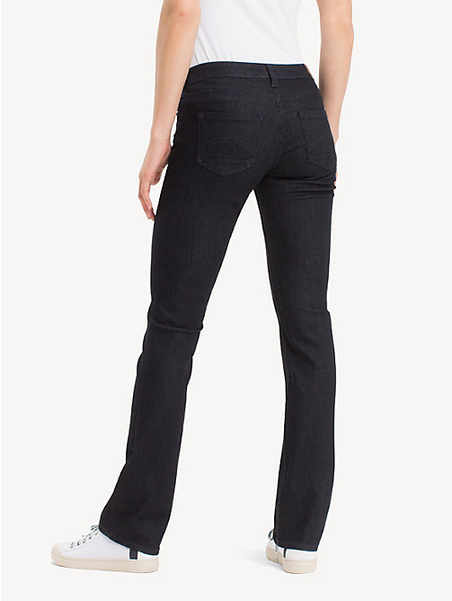 TOMMY JEANS Mid Rise Straight Leg Jeans - NEW RINSE STRETCH - TOMMY JEANS Clothing - detail image 1