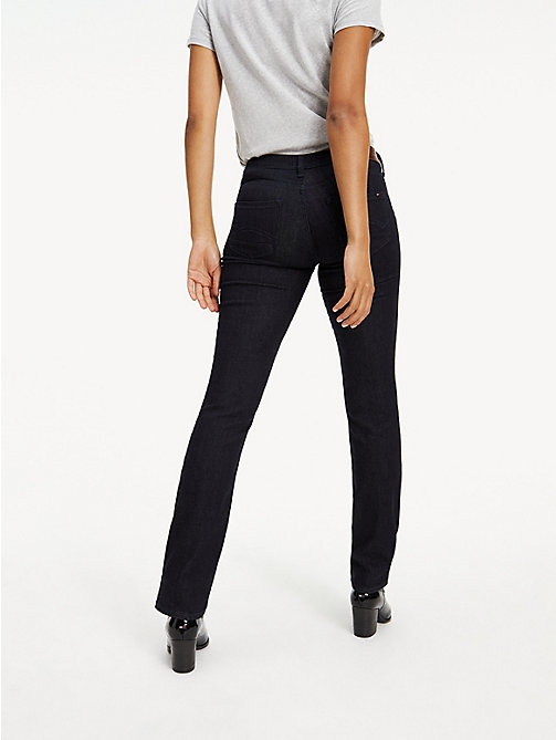 TOMMY JEANS Mid Rise Straight Leg Jeans - NEW RINSE STRETCH - TOMMY JEANS Basics - detail image 1
