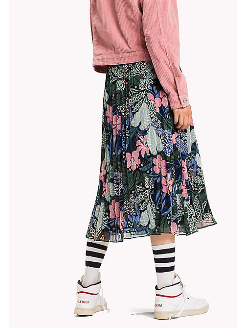 TOMMY JEANS Chiffon A-Line Skirt - BOTANICAL PRINT - TOMMY JEANS Skirts - detail image 1