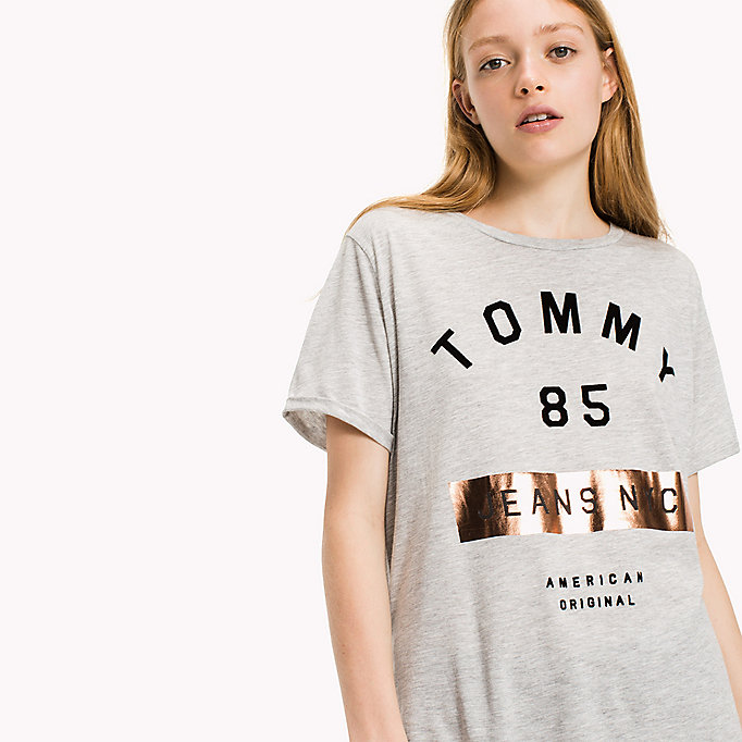 TOMMY JEANS T-shirt con logo in jersey - BLUSH - TOMMY JEANS Donne - dettaglio immagine 2