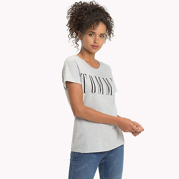 TOMMY JEANS T-shirt con logo - SKI PATROL - TOMMY JEANS Donne - immagine principale