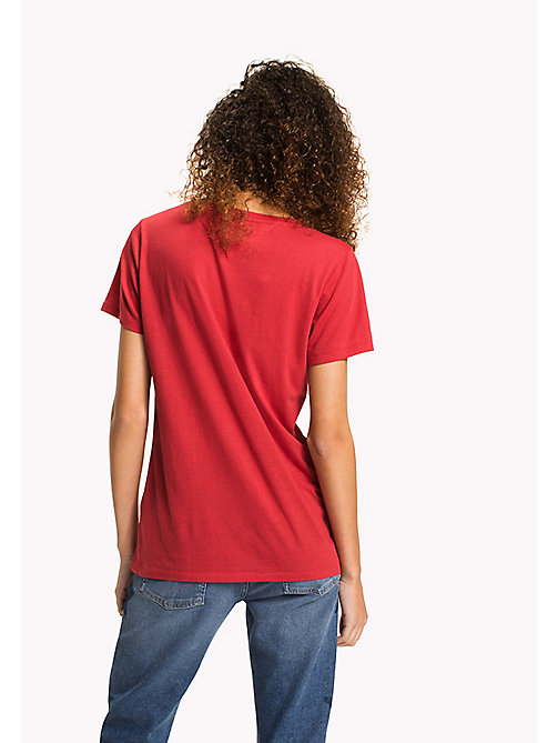 TOMMY JEANS T-Shirt mit Logo - SKI PATROL - TOMMY JEANS Sustainable Evolution - main image 1