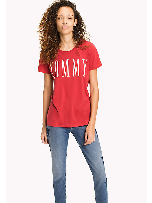 TOMMY JEANS Logo T-Shirt - SKI PATROL - TOMMY JEANS Sustainable Evolution - main image