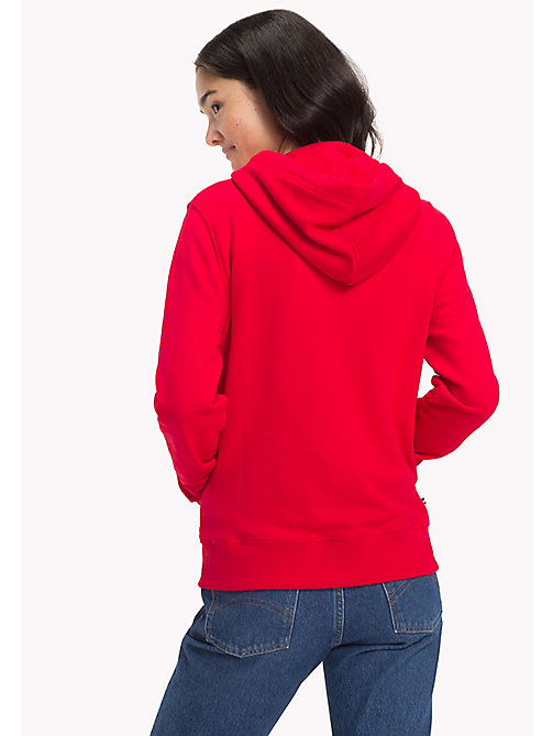 TOMMY JEANS Logo Zipped Hoodie - SKI PATROL - TOMMY JEANS WOMEN - detail image 1