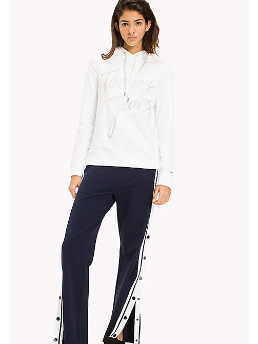 TOMMY JEANS Logo Hoodie - BRIGHT WHITE - TOMMY JEANS Sweatshirts & Hoodies - main image