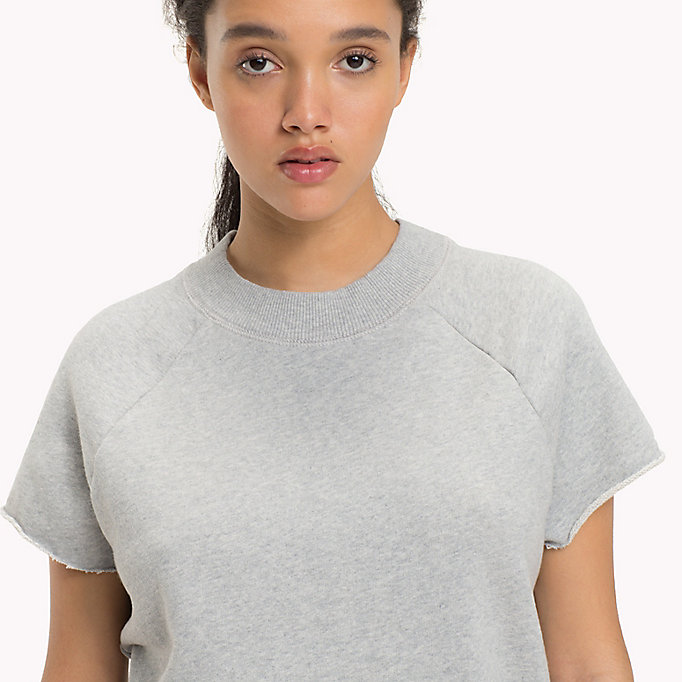 TOMMY JEANS Short Sleeved Raglan Sweatshirt - GOLD EARTH - TOMMY JEANS Women - detail image 2