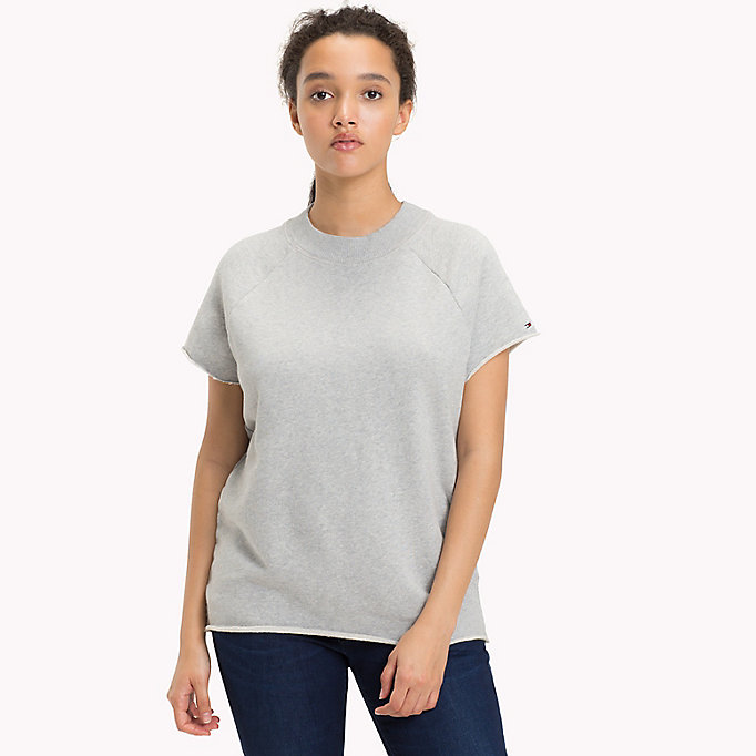 TOMMY JEANS Short Sleeved Raglan Sweatshirt - GOLD EARTH - TOMMY JEANS Women - main image