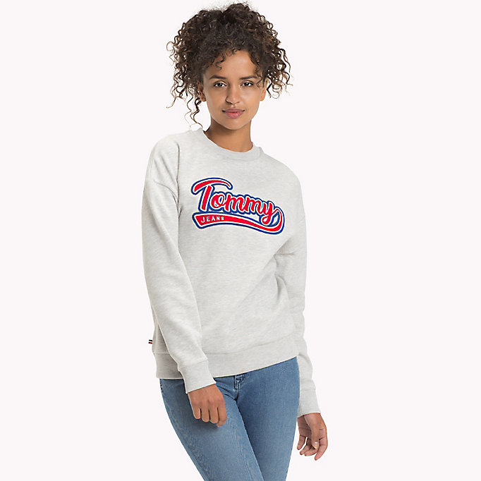 TOMMY JEANS Felpa con logo Tommy Jeans - SPICED CORAL - TOMMY JEANS Abbigliamento - immagine principale