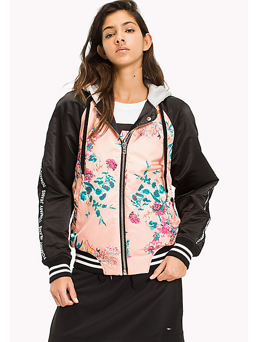 TOMMY JEANS Reversible Floral Print Bomber - FLORAL PRINT - TOMMY JEANS Festival Season - main image