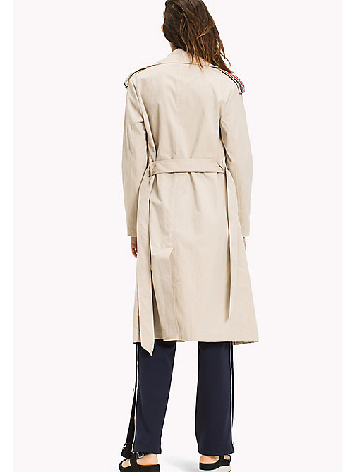 TOMMY JEANS Classic Trench Coat - SIMPLY TAUPE - TOMMY JEANS Clothing - detail image 1