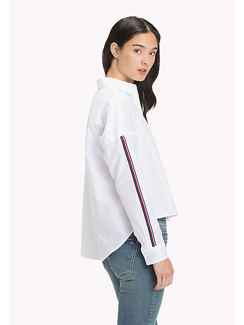TOMMY JEANS Oversized overhemd - BRIGHT WHITE - TOMMY JEANS DAMES - detail image 1