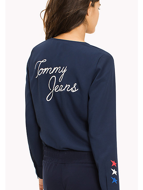 Tommy Jeans Bodysuit - BLACK IRIS - TOMMY JEANS Clothing - detail image 1