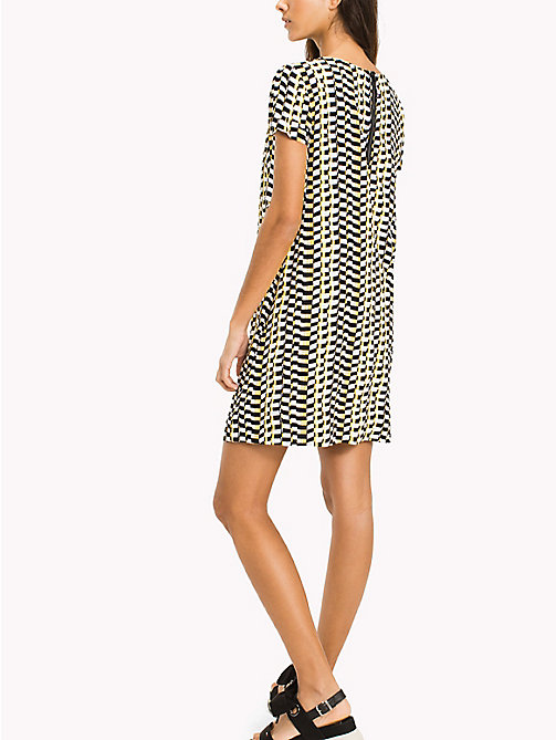 Casual A Line Dress - CHEQUERED FLAG PRINT - TOMMY JEANS Clothing - detail image 1