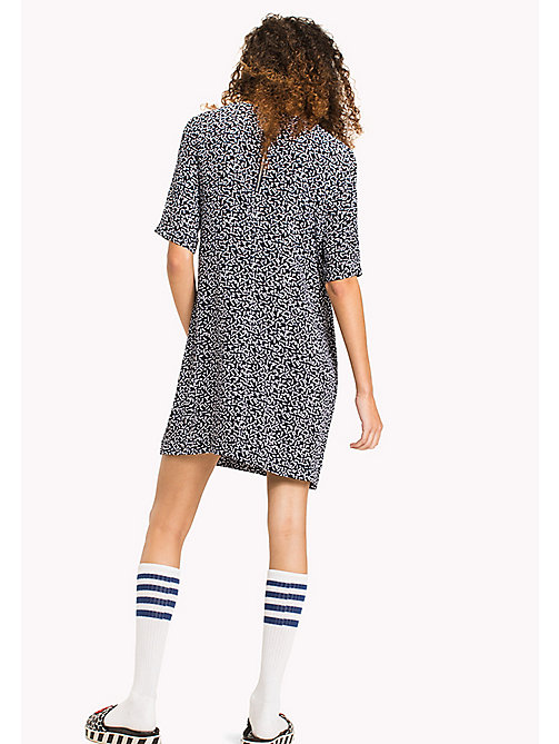 Casual A Line Dress - SMALL GEO PRINT - TOMMY JEANS Clothing - detail image 1