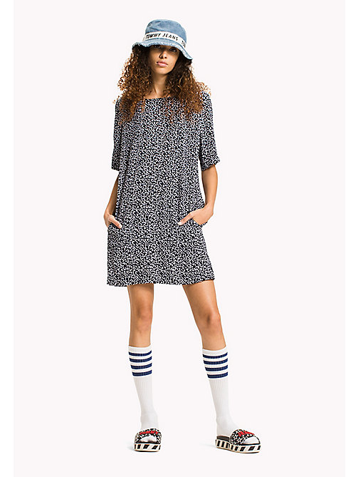 TOMMY JEANS Casual A Line Dress - SMALL GEO PRINT -  Mini - main image