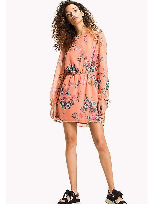 TOMMY JEANS Floral Print Dress - FLORAL PRINT - TOMMY JEANS Mini - main image
