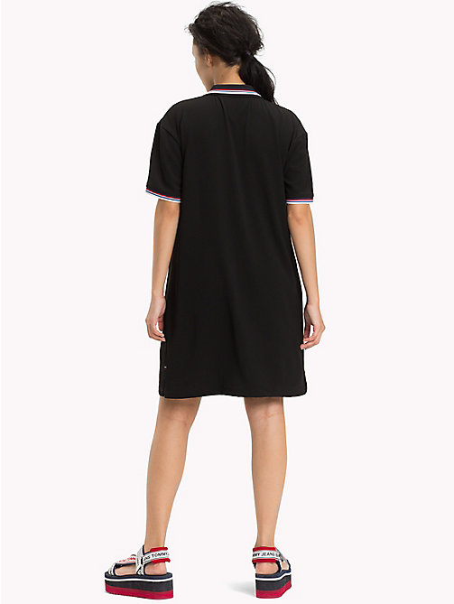 TOMMY JEANS Modern Polo Dress - TOMMY BLACK - TOMMY JEANS Clothing - detail image 1