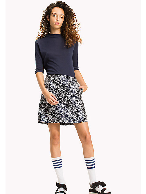 Geometric A Line Skirt - SMALL GEO PRINT - TOMMY JEANS Clothing - main image