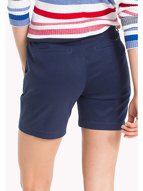 TOMMY JEANS Chino Shorts - BLACK IRIS - TOMMY JEANS WOMEN - detail image 1
