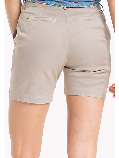 TOMMY JEANS Chino Shorts - SIMPLY TAUPE - TOMMY JEANS WOMEN - detail image 1