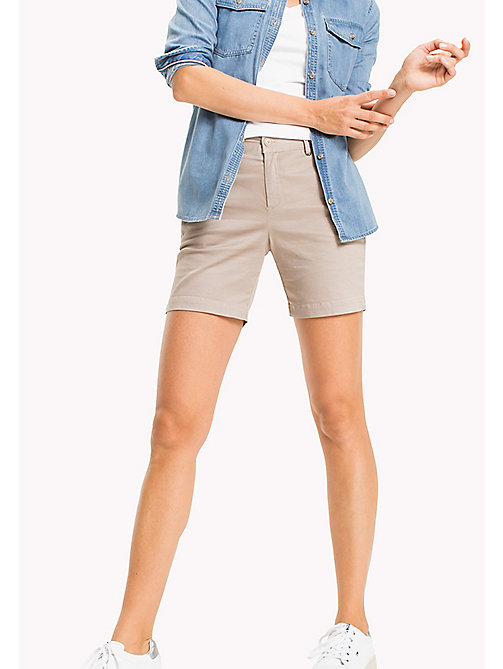 TOMMY JEANS Chino Shorts - SIMPLY TAUPE - TOMMY JEANS WOMEN - main image