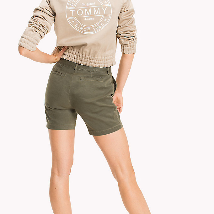 TOMMY JEANS Chino Shorts - SKI PATROL - TOMMY JEANS Women - detail image 1