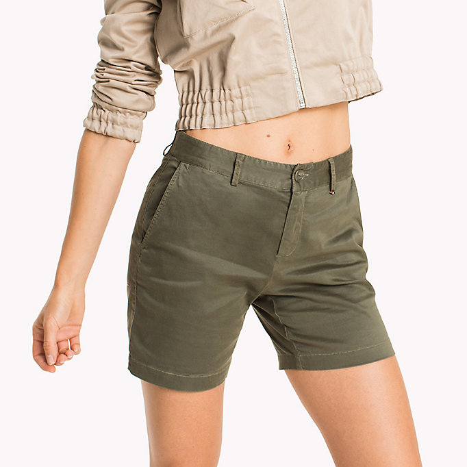TOMMY JEANS Chino Shorts - SKI PATROL - TOMMY JEANS Women - detail image 3