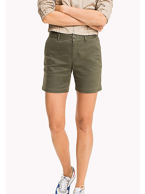 TOMMY JEANS Chino Shorts - GRAPE LEAF - TOMMY JEANS WOMEN - main image
