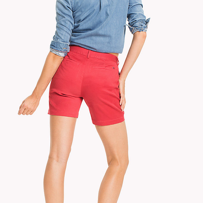 TOMMY JEANS Shorts chino - NAUTICAL BLUE - TOMMY JEANS Donne - dettaglio immagine 1