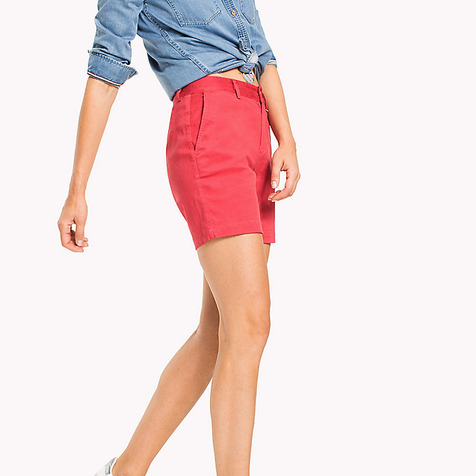 TOMMY JEANS Shorts chino - NAUTICAL BLUE - TOMMY JEANS Donne - dettaglio immagine 2