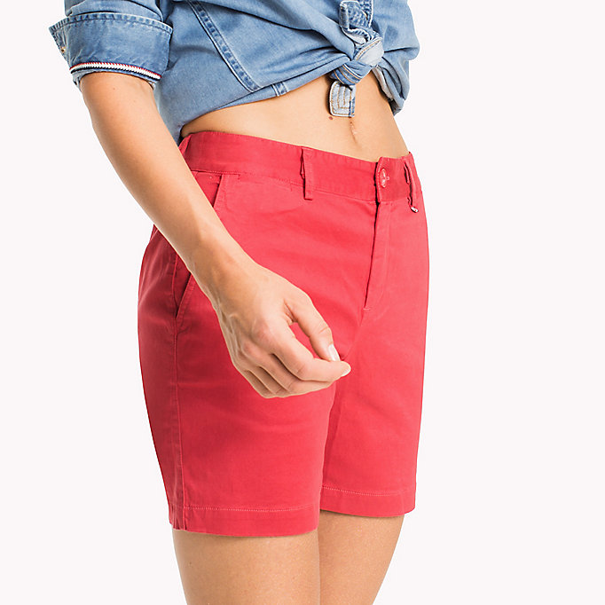 TOMMY JEANS Shorts chino - NAUTICAL BLUE - TOMMY JEANS Donne - dettaglio immagine 3