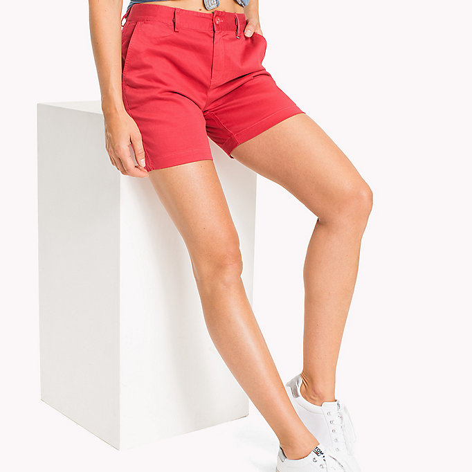 TOMMY JEANS Shorts chino - NAUTICAL BLUE - TOMMY JEANS Donne - immagine principale