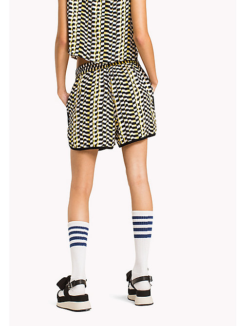 TOMMY JEANS Chequered Print Shorts - CHEQUERED FLAG PRINT - TOMMY JEANS Trousers & Skirts - detail image 1