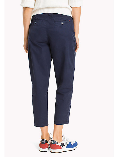 TOMMY JEANS Relaxed Chinos - BLACK IRIS - TOMMY JEANS WOMEN - detail image 1