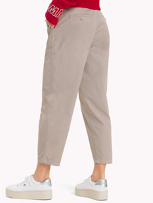 TOMMY JEANS Relaxed Chinos - SIMPLY TAUPE -  Trousers & Skirts - detail image 1