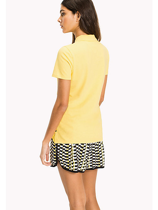 TOMMY JEANS Organic Cotton Stretch Polo - DANDELION -  Vacation Style - detail image 1