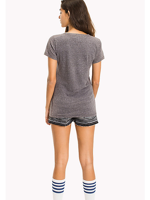 TOMMY JEANS Regular Fit T-Shirt - TOMMY BLACK - TOMMY JEANS WOMEN - detail image 1