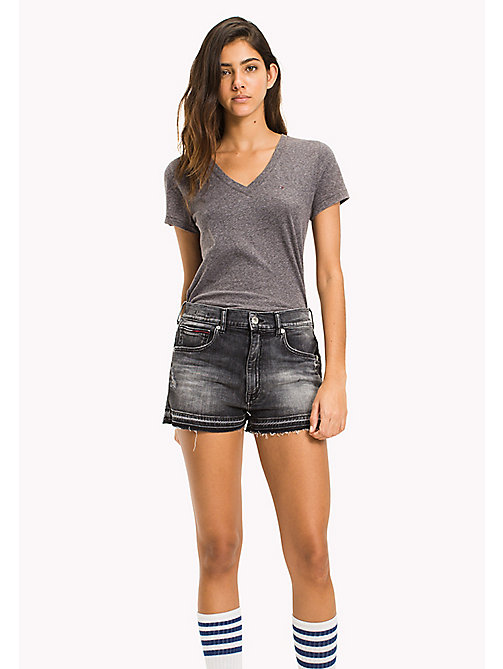 TOMMY JEANS Regular Fit T-Shirt - TOMMY BLACK - TOMMY JEANS WOMEN - main image
