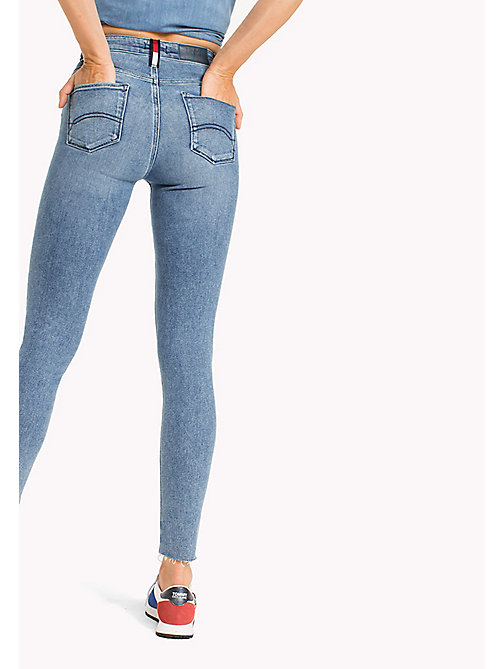 TOMMY JEANS Santana High Rise Skinny Fit Jeans - DRAM MID BL. STR. - TOMMY JEANS Women - detail image 1