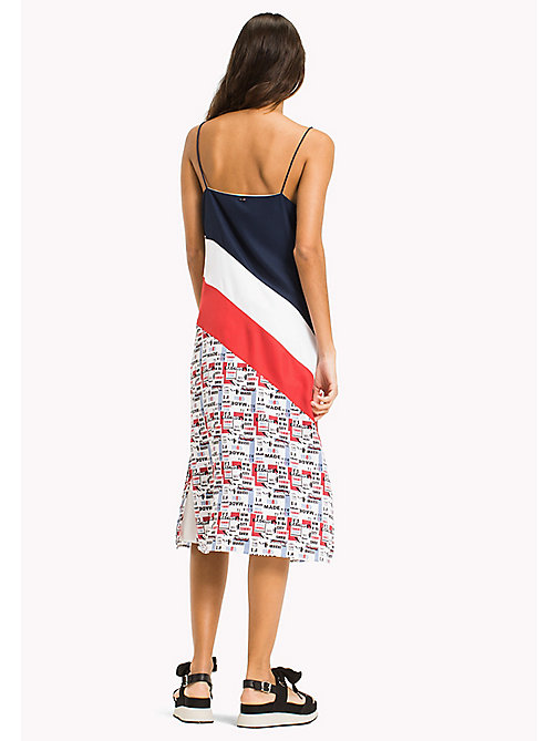 TOMMY JEANS Colour-Blocked Midi Dress - RACING PRINT - TOMMY JEANS Clothing - detail image 1