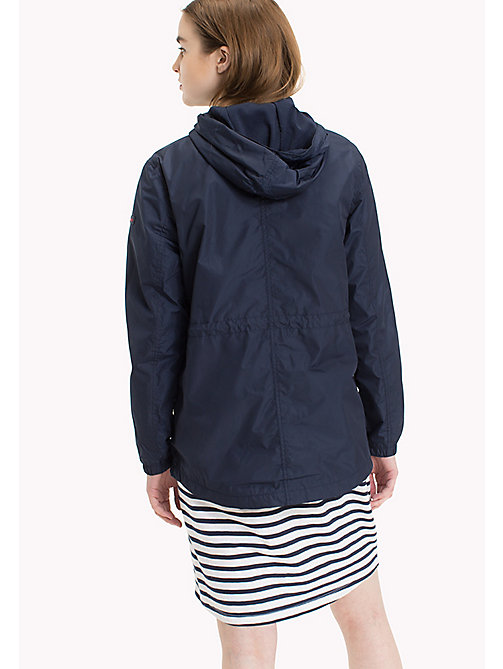 TOMMY JEANS Hooded Windbreaker - BLACK IRIS - TOMMY JEANS Women - detail image 1