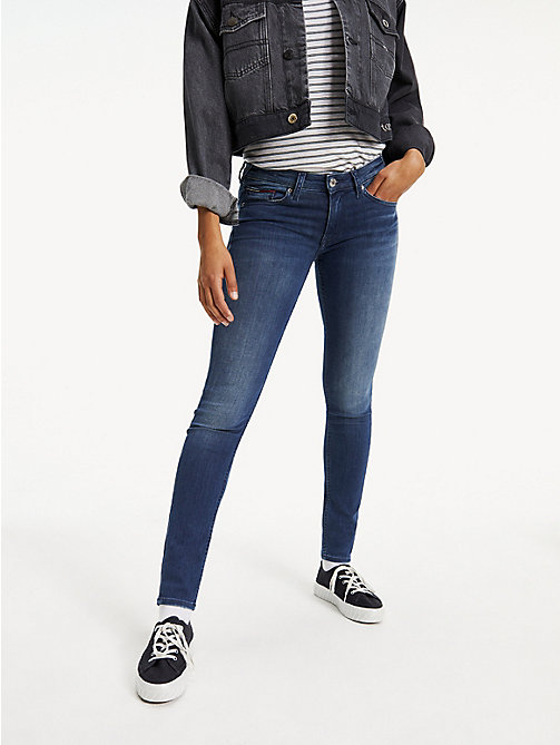 TOMMY JEANS Low Rise Skinny Fit Jeans - NICEVILLE MID STRETCH - TOMMY JEANS Jeans - main image