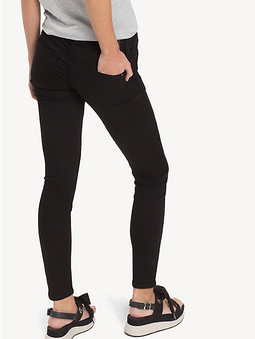 TOMMY JEANS Low Rise Skinny Fit Jeans - DANA BLACK STRETCH - TOMMY JEANS Women - detail image 1