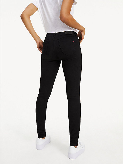 TOMMY JEANS Low Rise Skinny Fit Jeans - DANA BLACK STRETCH - TOMMY JEANS Basics - detail image 1