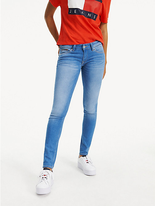 TOMMY JEANS Low Rise Skinny Fit Jeans - SANTA CRUZ STRETCH - TOMMY JEANS Skinny Jeans - main image