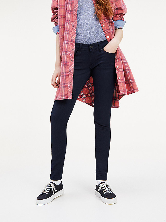 67282ec5 Low Rise Skinny Fit jeans | Tommy Hilfiger