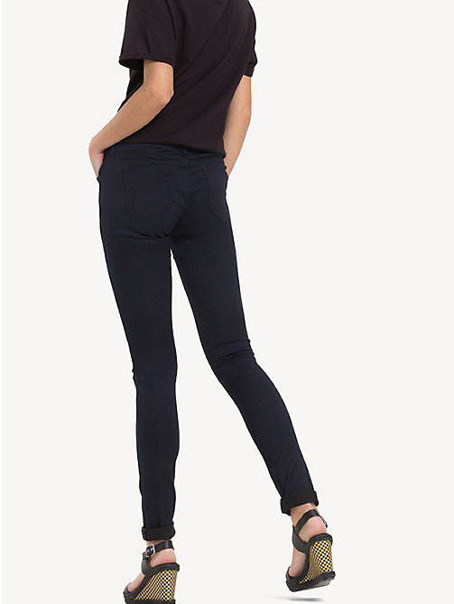 TOMMY JEANS Mid Rise Skinny Fit Jeans - BOOGIE BLUE STRETCH - TOMMY JEANS Women - detail image 1