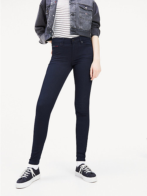 TOMMY JEANS Mid Rise Skinny Fit Jeans - BOOGIE BLUE STRETCH - TOMMY JEANS Women - main image