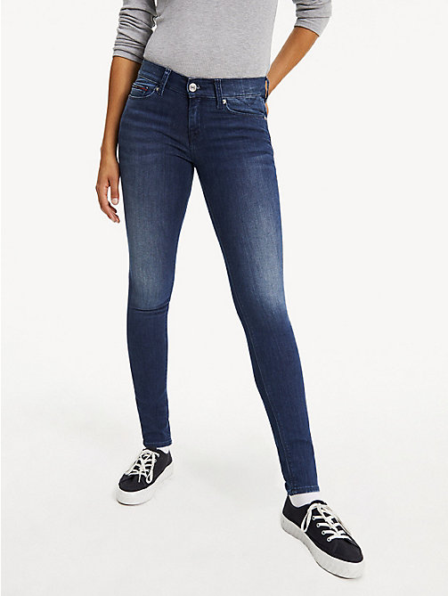 TOMMY JEANS Medium Rise Skinny Jeans - NICEVILLE MID STRETCH - TOMMY JEANS Basics - main image